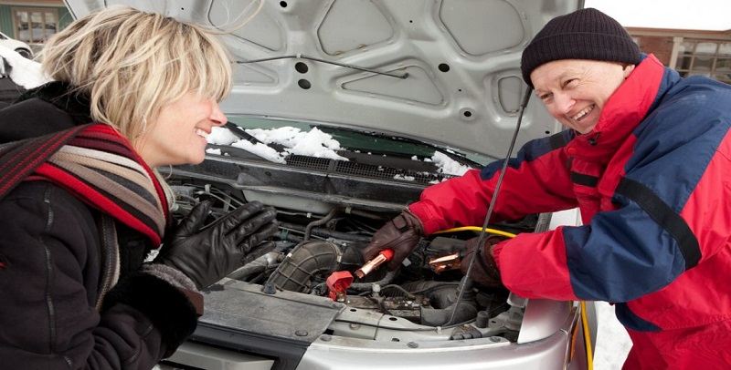 jump start & battery charge